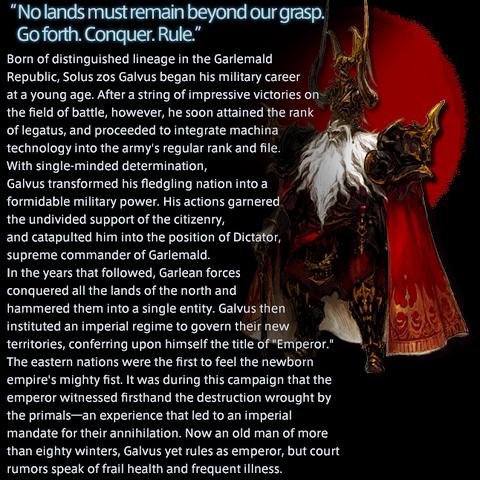Emperor Solus's Profile.
