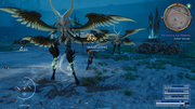 Garuda and her supports from FFXV
