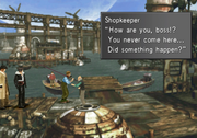 Master Fisherman comes to the FH docks from FFVIII Remastered