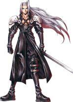 Sephiroth Nomura art-Cut