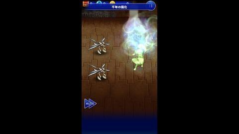 【FFRK】エーコ必殺技『千年の風化』
