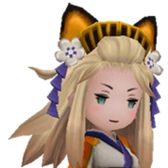 Edea as a Yōkai.