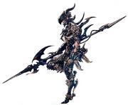 Dragoon Hyur Artwork XIV