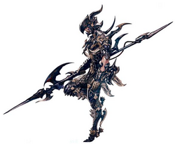 Dragoon Hyur Artwork XIV