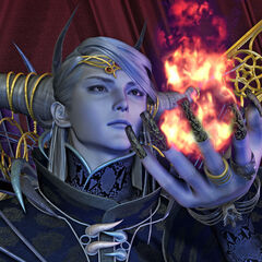 CG, <i>Final Fantasy Origins</i>.