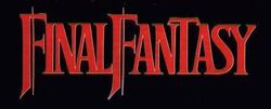 FF1 logo do NES