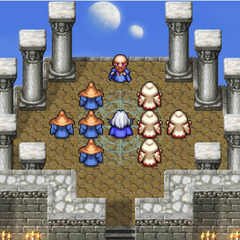 Mysidia's Tower of Prayers in the <i>Complete Collection</i> version.