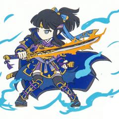 Chizuru's sprite concept.