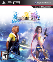 FFX-X-2 HD Remaster NA Cover
