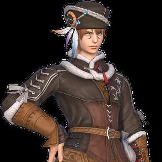 Hidefiend's Set from <i>Final Fantasy XIV: Shadowbringers</i>.
