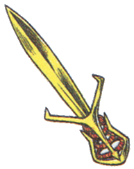 Golden Sword FFIII Art