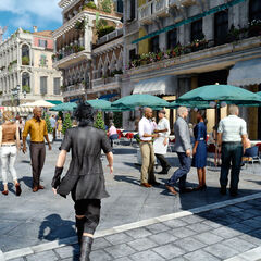 Noctis arrives in Altissia.