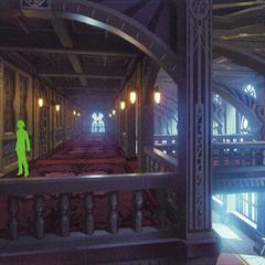 Hallway (draft).