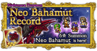 FFRK Neo Bahamut Record Nightmare