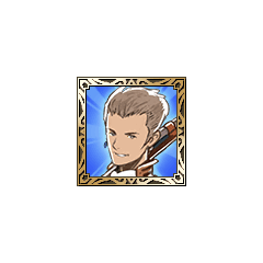 Balthier's Sky Pirate icon in <i>Final Fantasy Tactics S</i>.