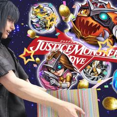 Justice Monsters Five отмечает день рождения Ноктиса.