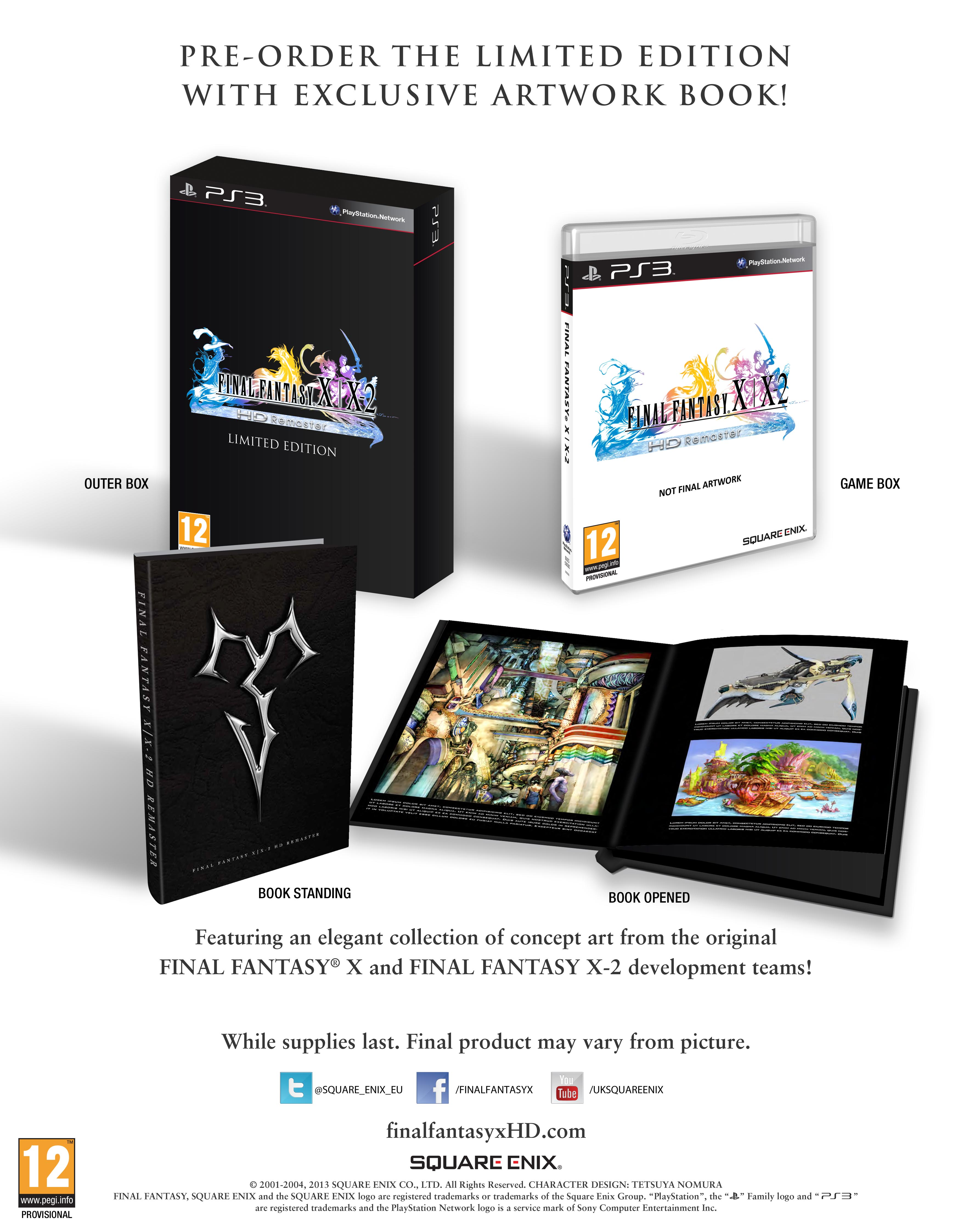 Collectorsedition. Org » final fantasy x/x-2 hd remaster.