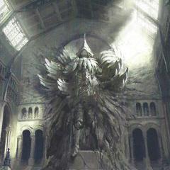 Статуя короля-Мудреца.