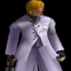 Боевая модель Руфуса в <i>Final Fantasy VII</i>.