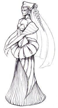 Sorceress 1 FFVIII Sketch