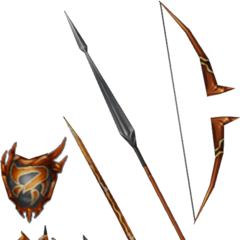 Firion's blood weapons.