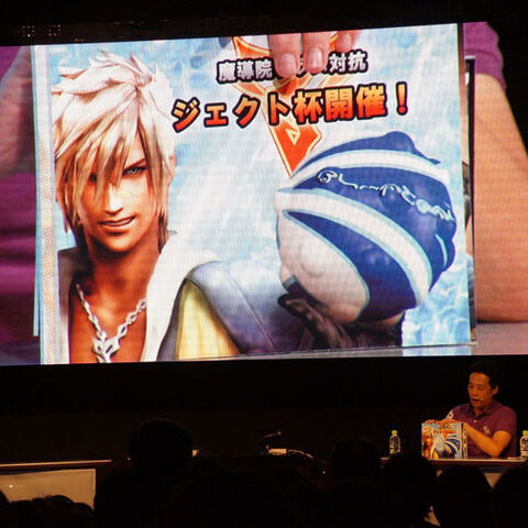 Nine in Tidus' outfit.