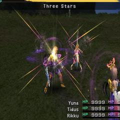 Three Stars.