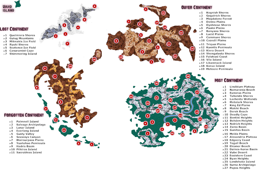 Awesome FFIX World Map