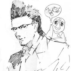 Изображение ко второй годовщине игры, показанное в Square Enix cafes.