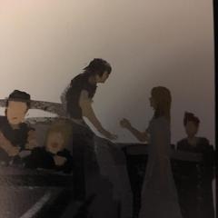 Рисунок с героями-детьми и