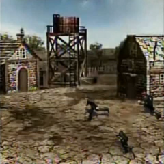 Corel Town in <i>Before Crisis -Final Fantasy VII-</i>.