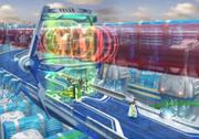 Esthar City heal spot from FFVIII Remastered