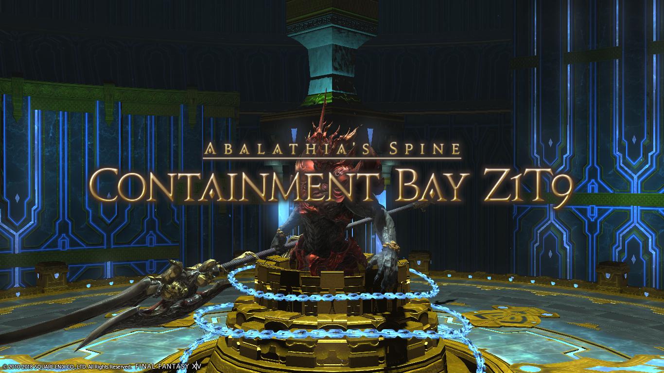 Containment Bay Z1T9 | Final Fantasy Wiki | FANDOM powered