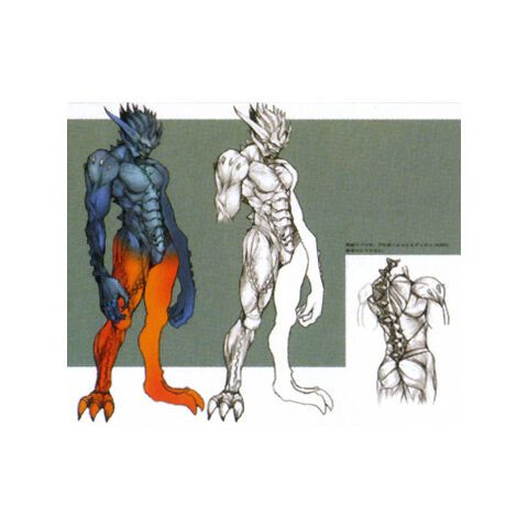 Concept art of a Makonoid.