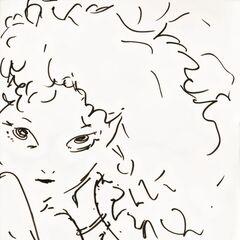 Набросок работы Ёситаки Амано.
