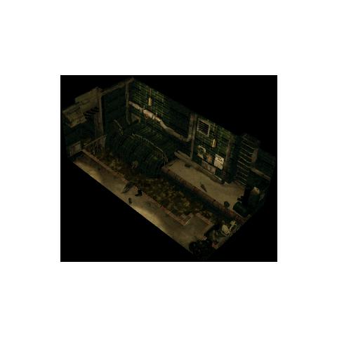 Sewer exit in <i>Final Fantasy VII</i>.