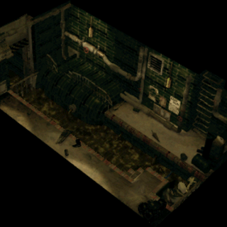Sewer exit in <i>Final Fantasy VII</i>.