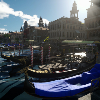 Gondola in Altissia.