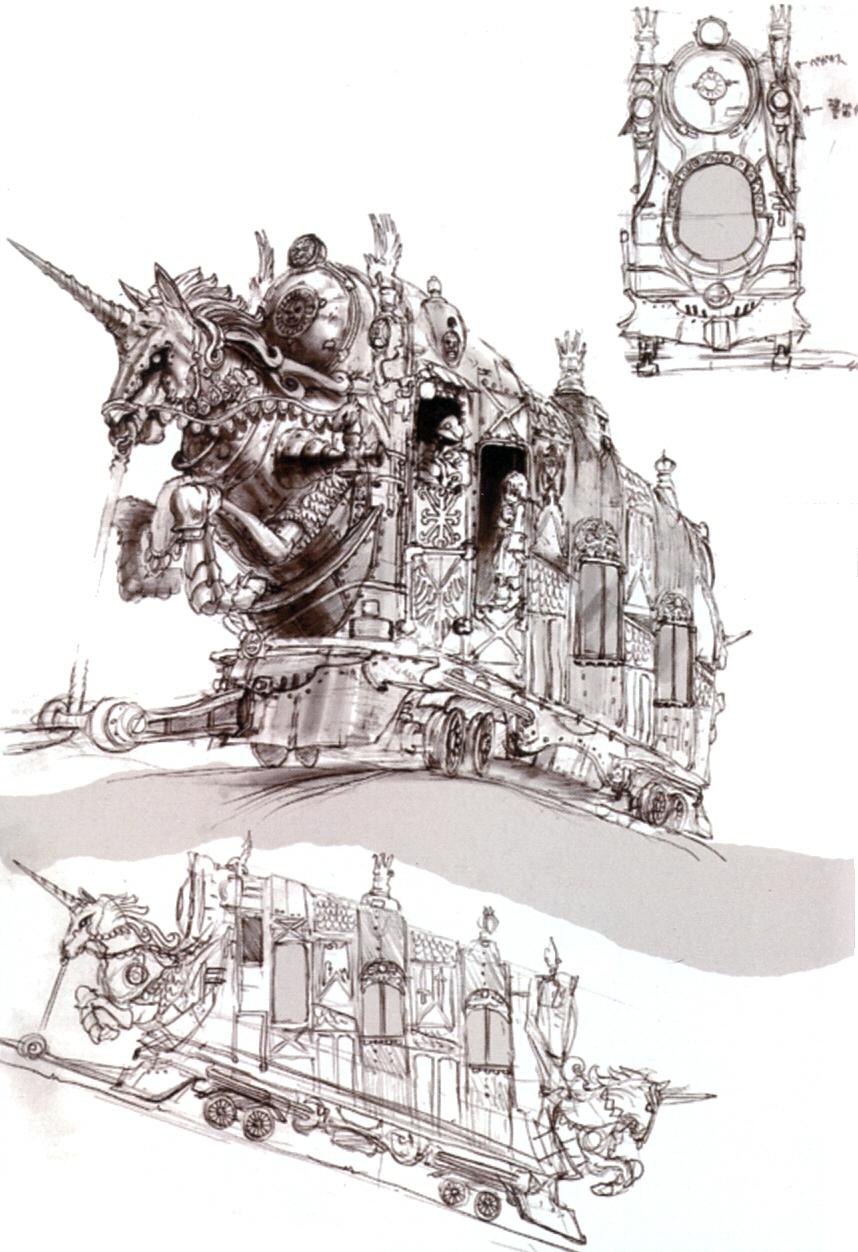 Image - Berkmea Cable Car FFIX Art 1.jpg | Final Fantasy Wiki ...