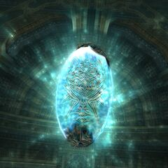 Chaos's crystal in <i>Final Fantasy XII</i>.