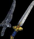 DFF2015 Cecil's Waxing Sword & Waning Sword