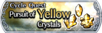 DFFOO Cycle Quest Yellow banner GLS