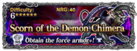 FFBE Scorn of the Demon Chimera