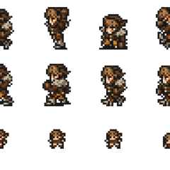 Set of Gaffgarion's sprites.