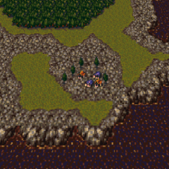 Jidoor in the World of Ruin (SNES).