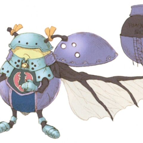 Concept artwork of the normal Ladybug.