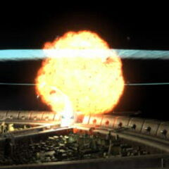Original FMV of the reactor explosion.