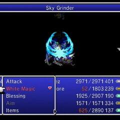 Sky Grinder.