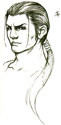 Young Auron Sketch