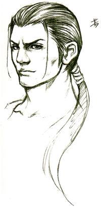 Young Auron Sketch